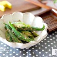 オクラのお弁当おかず&副菜レシピ特集!子供にも人気の簡単料理で彩りをプラス♪