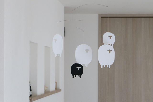 Sheep Mobile(ひつじのモビール)