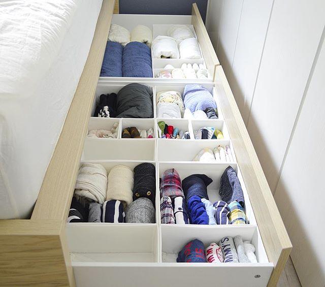 IKEAのSKUBB(スクッブ)で美しく仕分け