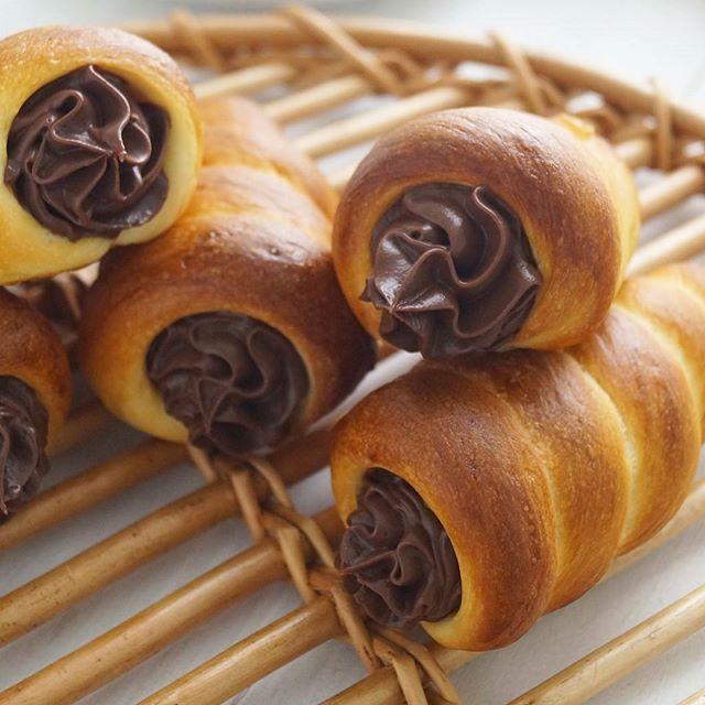 薄力粉消費レシピ:絶品チョココロネ