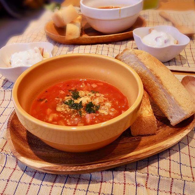 パスタに合う献立 スープ