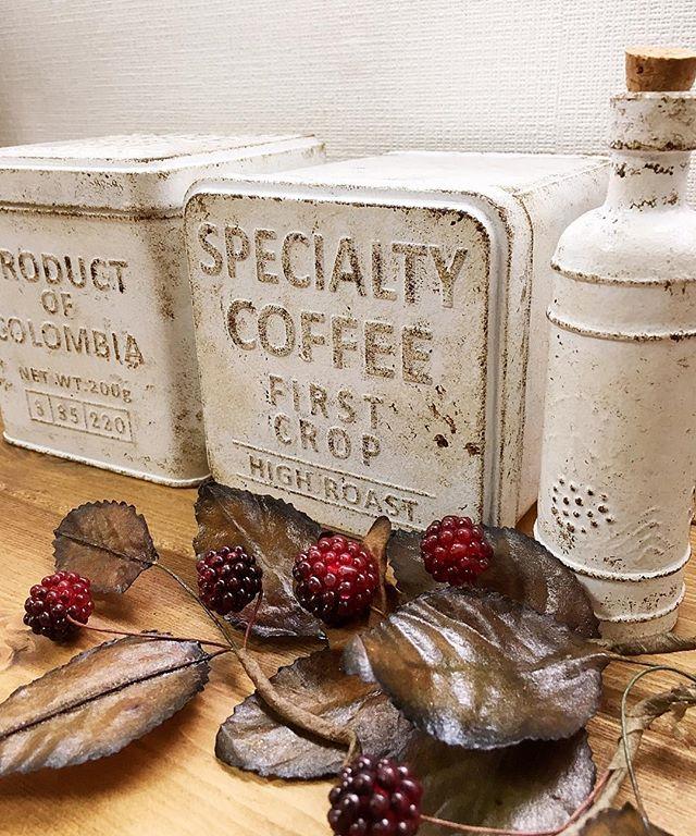 紅茶缶 コーヒー缶7