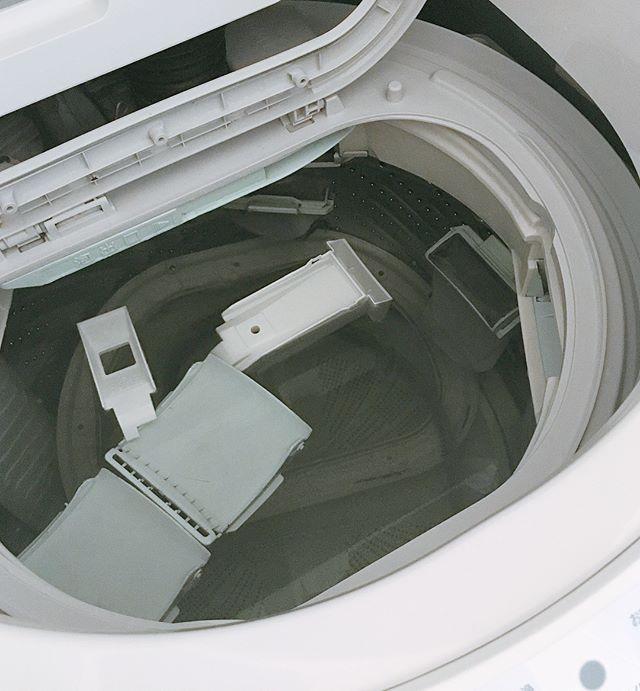 洗濯機 隙間・パーツ掃除の仕方6