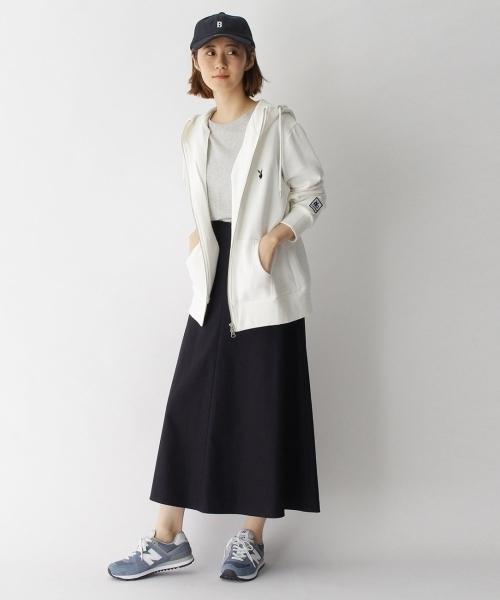 [BASESTATION] 【ユニセックス】B刺繍 フェルトローキャップ33024