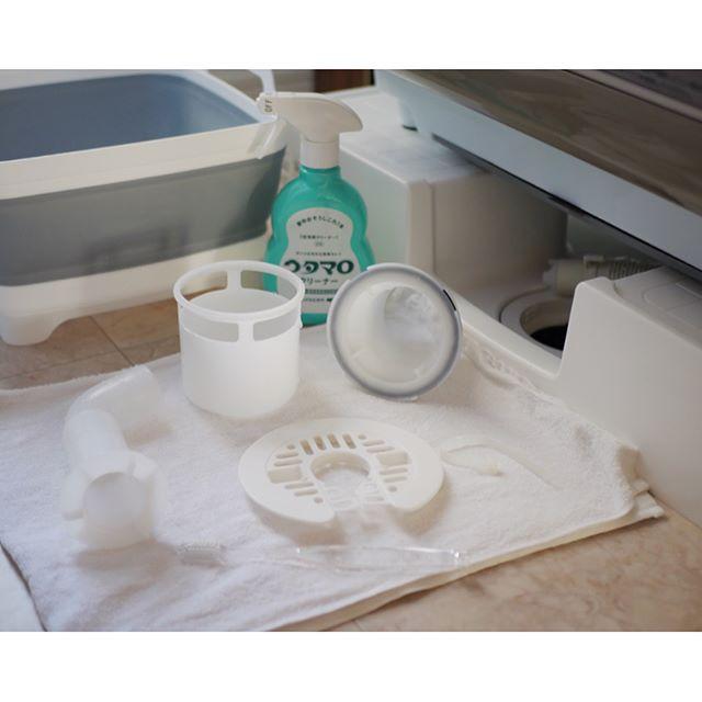 洗濯機 隙間・パーツ掃除の仕方4