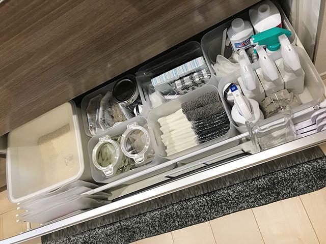 キッチン 掃除道具収納2