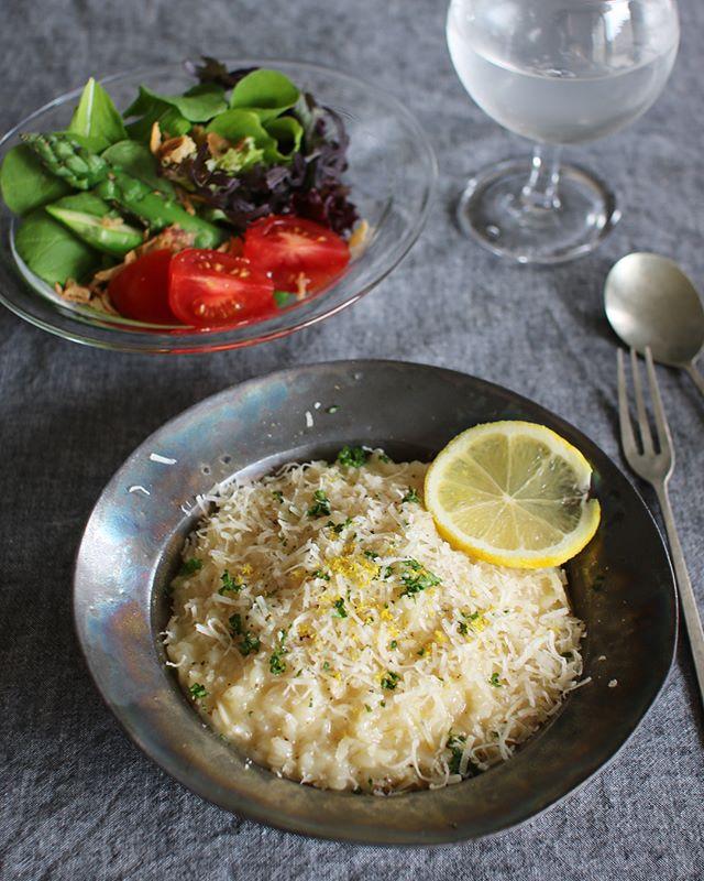 ディナー人気主食レシピ:レモンリゾット