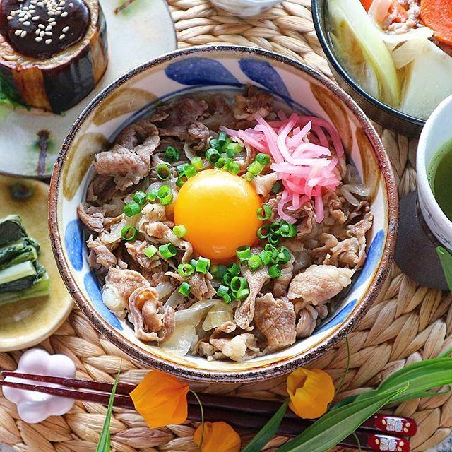牛肉 お弁当レシピ 丼物