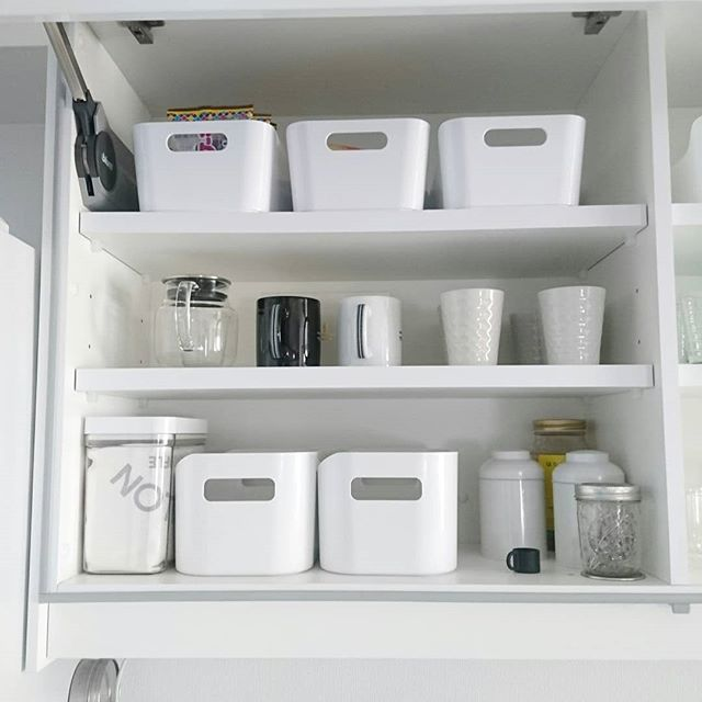 お皿のおすすめ収納術《IKEAアイテム》2