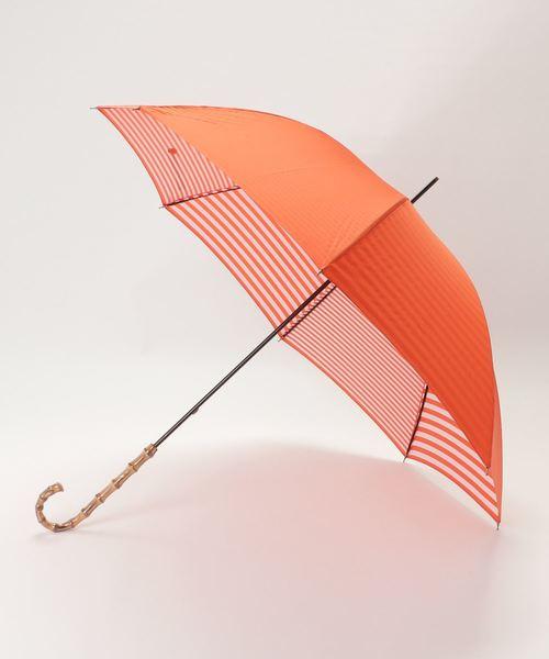 [MACKINTOSH PHILOSOPHY] 【晴雨兼用】裏ボーダーMP長傘