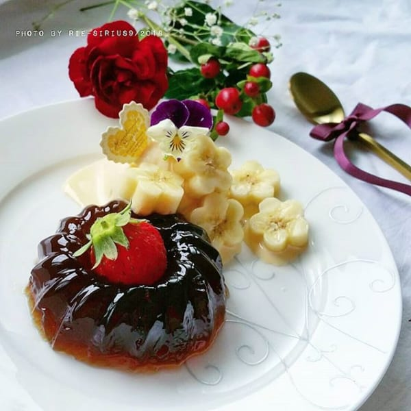 ㉒簡単デザートレシピ:ミニクグロフ型コーヒーゼリー
