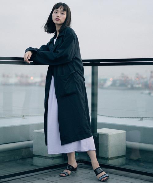 [TOKYO DEPARTMENT STORE] 【SOCIAL WEAR】ロングガウンコート