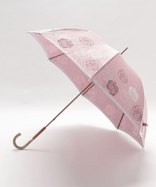 [MOONBAT] 傘 【バラ柄 ジャガード】