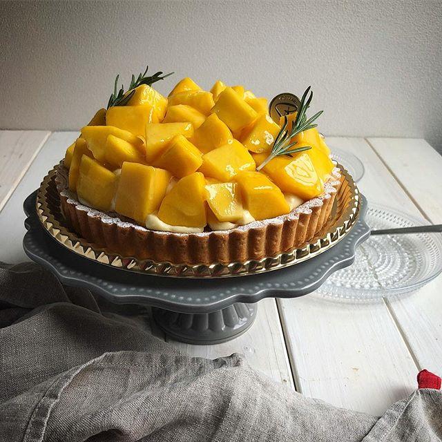 ⑩おすすめタルトレシピ:アップルマンゴーのタルト