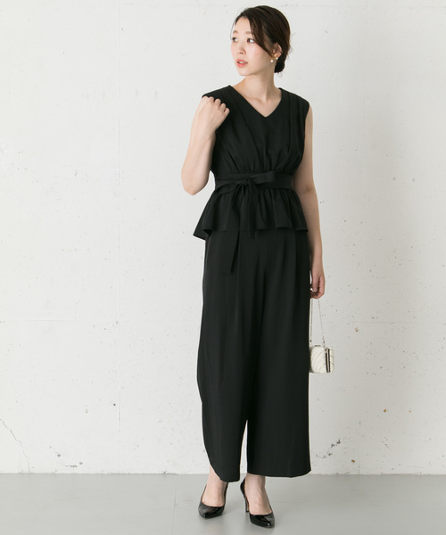 [URBAN RESEARCH ROSSO WOMEN] Chaco セットアップロンパース