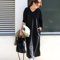 黒ワンピースの秋コーデ特集!大人カジュアルな着こなしを一挙ご紹介☆