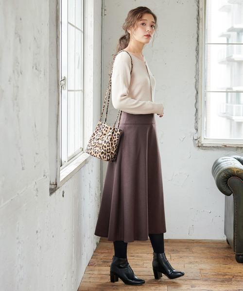 [ROPE' PICNIC] ヨーク切替スカート