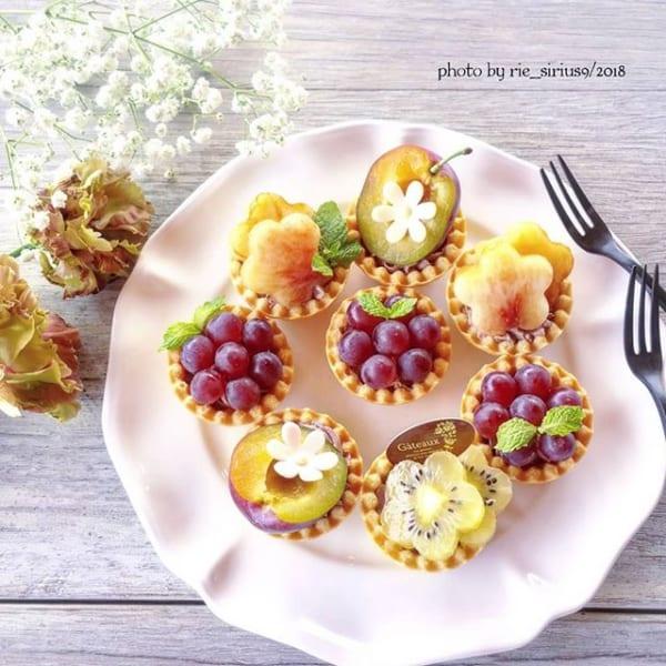 ㉓簡単デザートレシピ:フルーツタルト