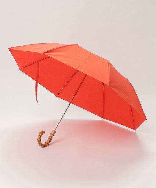 [Traditional Weatherwear] 折りたたみ傘 バンブー