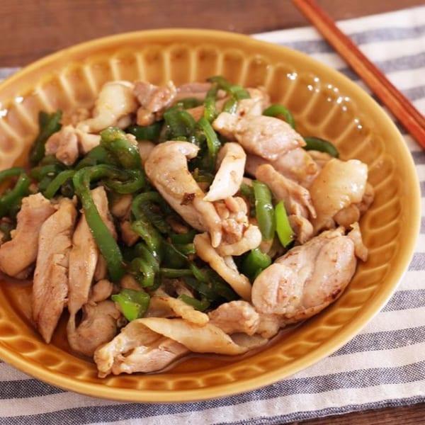 鶏ピーマンの中華風炒め