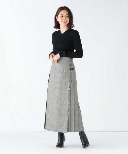 [BEAMS WOMEN] O'NEIL OF DUBLIN / ロング キルトスカート