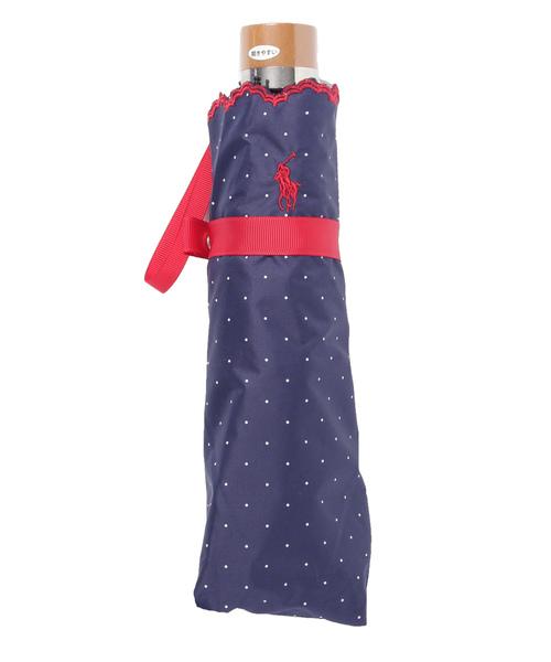 [MOONBAT] 日傘 【ピンドット×ポニー刺繍】