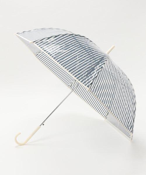 [studio CLIP] ストライプビニール傘