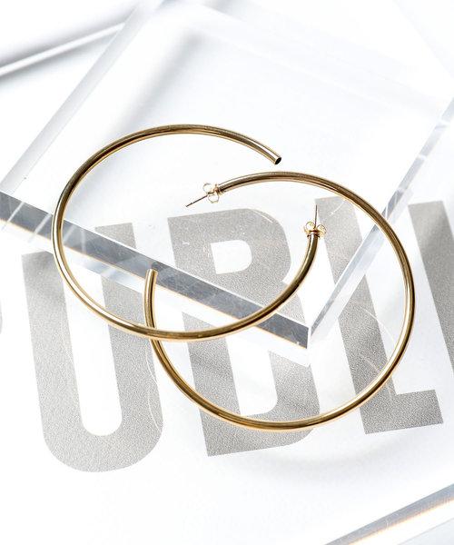 [PUBLUX] LAURA LOMBARDI/ローラ ロンバルディ XL Classic Hoops/フープピアス