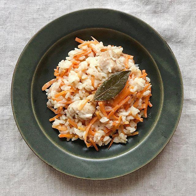 鶏肉とにんじんのクミンリゾットレシピ