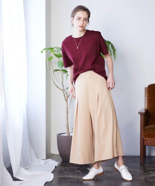 [Chaco closet] 【FRUIT OF THE LOOM】レディース フルーツオブザルーム オーバーサイズ クルーネック 半袖 Tシャツ