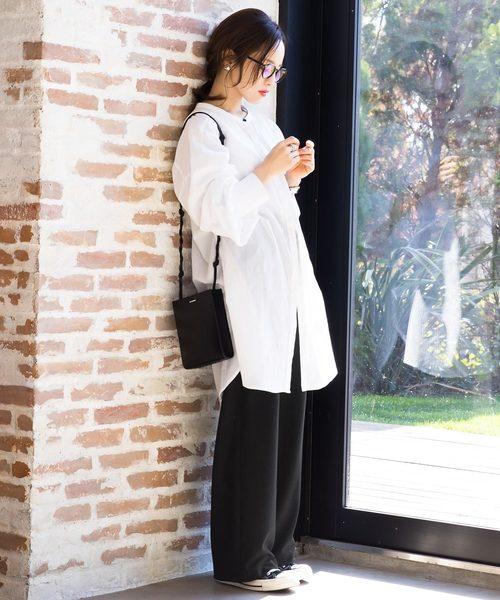 [kobelettuce] ポンチイージーワイドパンツ【WEARISTA田中亜希子さん×KOBE LETTUCEコラボ】2