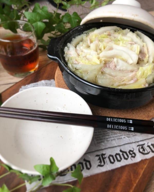 豚バラ白菜ミルフィーユ鍋