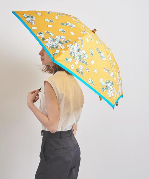 [UNITED ARROWS] <manipuri(マニプリ)>プリント 晴雨兼用 折りたたみ傘