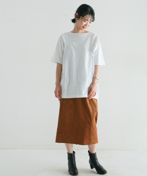 [NOMBRE IMPAIR] 16/-cotton ロングカットソー