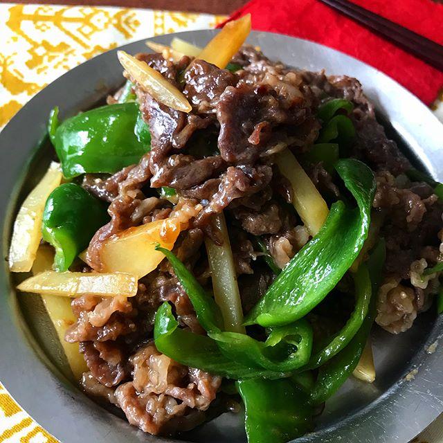 牛肉 お弁当レシピ 炒め物おかず2