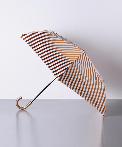 [UNITED ARROWS] <Pradelle(プラデル)>ボーダー 晴雨兼用 折りたたみ傘