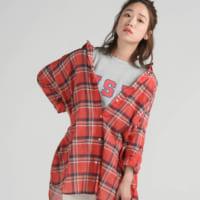 赤チェックシャツの秋コーデ特集♡レディースのおしゃれな着こなしをご紹介!