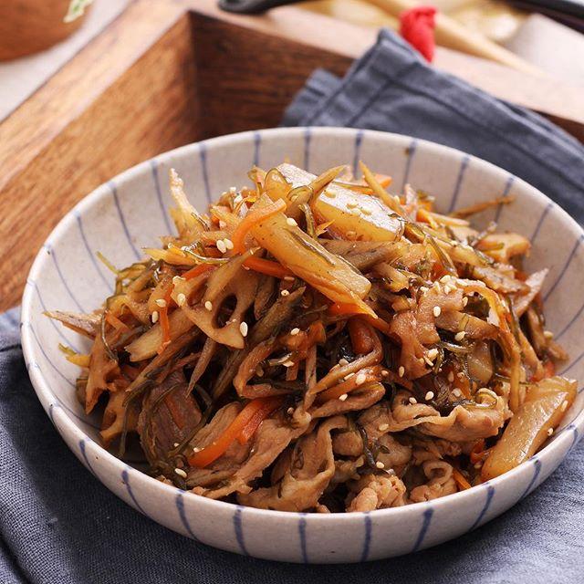 こんにゃくの人気レシピ 炒め物4