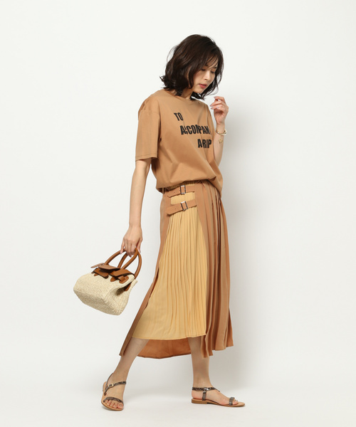 [BARNYARDSTORM] BARNYARDSTORM / 【otonaMUSEコラボ6月号掲載】プリーツスカート