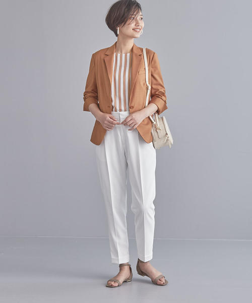 [green label relaxing] 【WORK TRIP OUTFITS】BC ツイル シャツジャケット / テーラード
