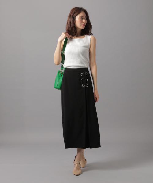 [Andemiu] サイドハトメレースUPスカート838201