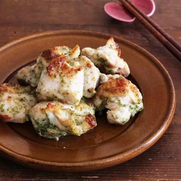 トースターで簡単!鶏肉の海苔マヨチーズ