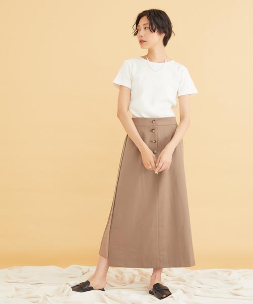 [TOKYO DEPARTMENT STORE] 【NUMBER (N)INE】《別注》WOMEN'S プレミア コットン フライス ラウンドネック Tシャツ