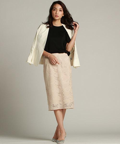 [LAUTREAMONT ONLINE SHOP] 【WEB別注】レーススカート