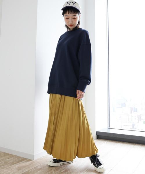 [SEVENDAYS=SUNDAY] プリーツロングスカート ★〇