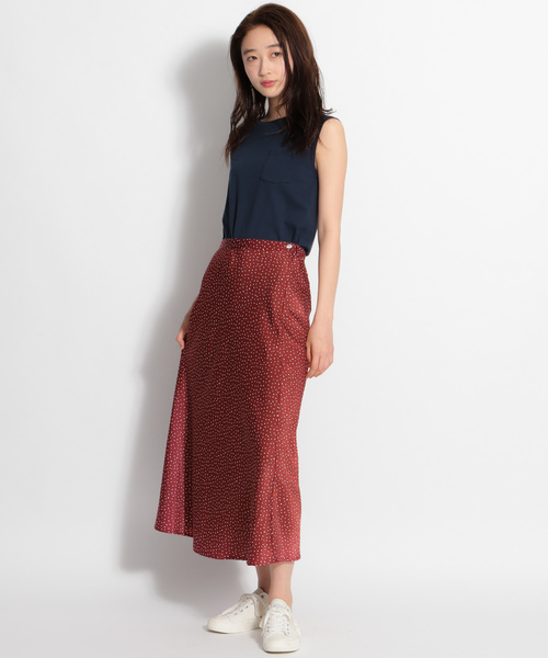 [niko and...] 無地柄マーメイドスカート