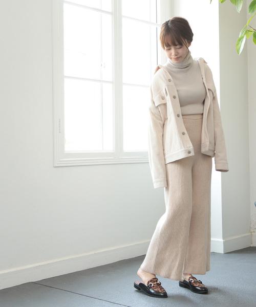 [SESTO] ビットつきローファーデザインのスリッパサンダル