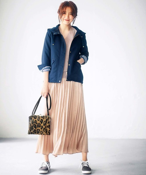 [GeeRA] 【19秋新着】アコーディオンプリーツスカート