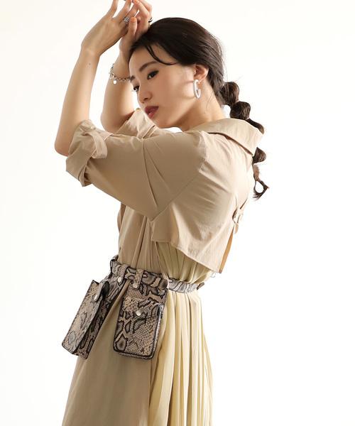 [Bou Jeloud] ≪2019AW先行予約≫【WEB限定】◆トレンドのスタイルに◆マイクロベルトバッグ
