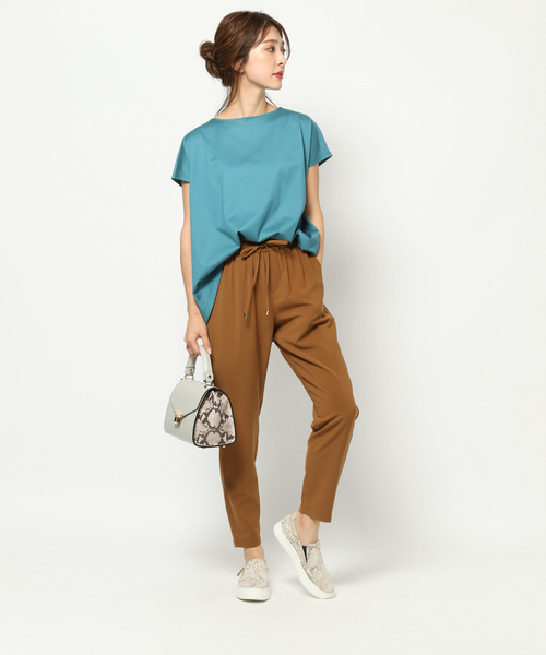 [BARNYARDSTORM] BARNYARDSTORM / WシルケットタックTシャツ